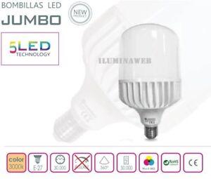 Bombilla-JUMBO-E27-LED-30W-240w-Luz-Calida-3000k-3000-Lumenes-BAJO-CONSUMO-230V