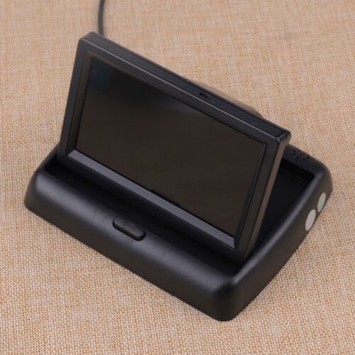 """4.3/"""" Foldable LCD Color Display Screen Car SUV Reverse Rearview Parking Monitor"""