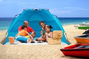 Beach Tent Sun Shelter Cabana Canopy Pop Up Automatic Portable