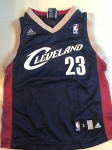 Details about Cleveland Cavaliers Lebron James 23 Adidas Jersey Youth Small NBA