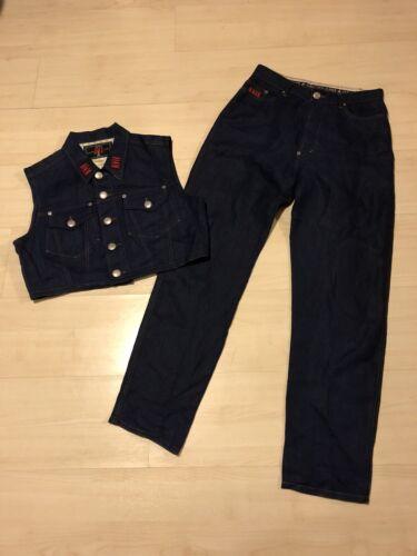 jean paul gaultier 100% Flax Suit Size XL
