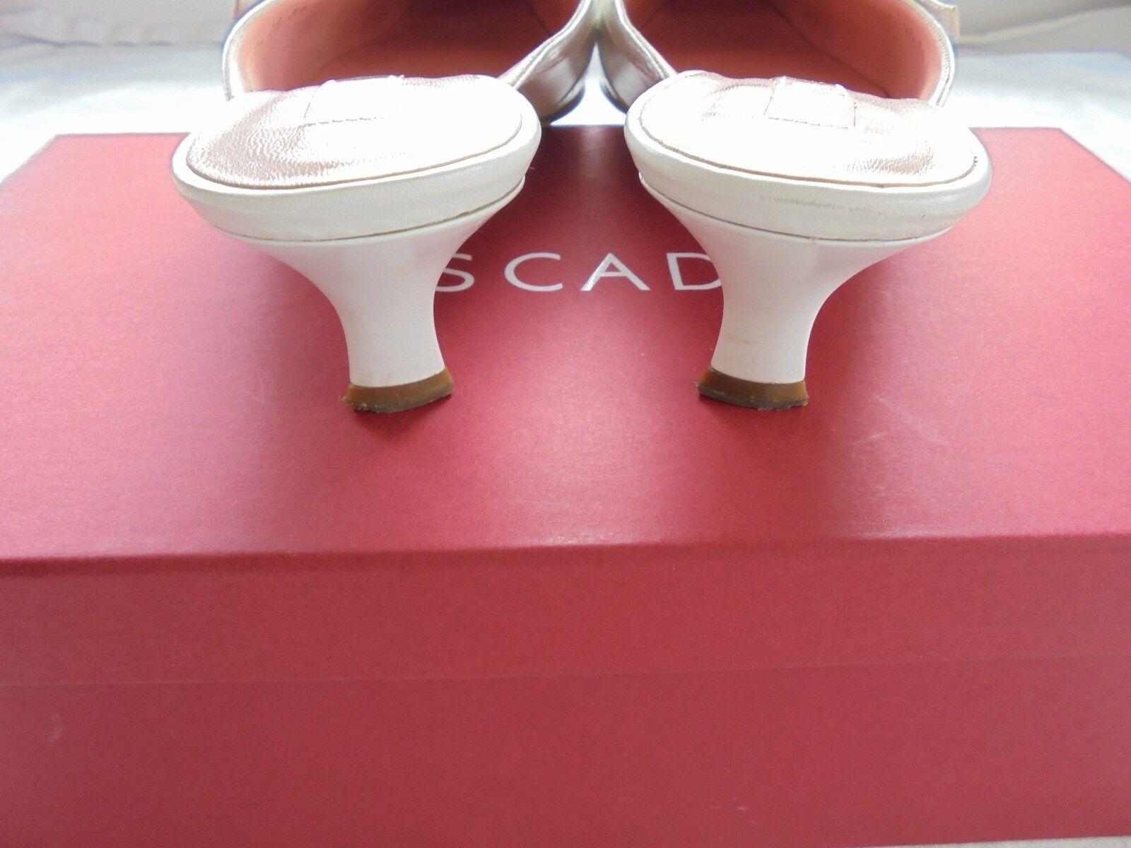 Escada Leder Pumps NP:  Tasche w NEU + OVP Tasche  Schuhe Pantoletten Gr. 39 ca7ae8