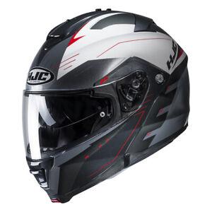 576f104d HJC IS-Max 2 Flip Front CORMI RED Modular Motorcycle Helmet + ...
