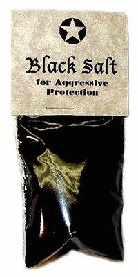 Ritual Black Salt - Negativity Remover & Repellent, Spell& Ritual Aid!