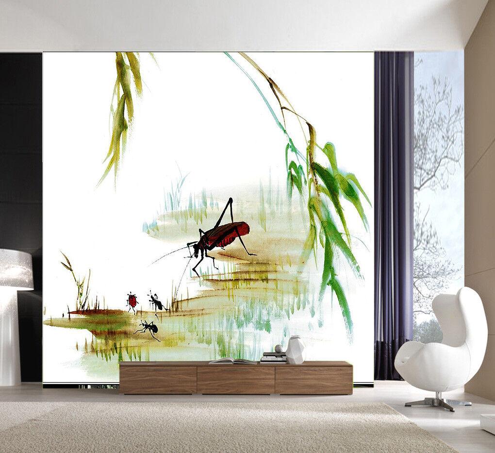 3D Insekten  Malerei 74 Tapete Tapete Tapete Wandgemälde Tapete Tapeten Bild Familie DE Summer | Moderater Preis  |  5de521