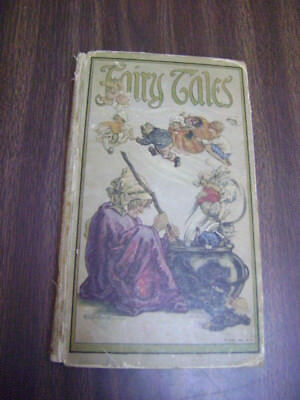 1918 Fairyland Map Pictorial Fairy Tales Fantasy Children/'s Room Decor Poster