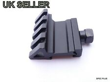 One side 45 Degree angle Offset 20mm Rail Mount for Weaver Picatinny Rail