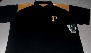 Pittsburgh-Pirates-Polo-Shirt-2XL-Birdseye-Vibrant-Colors-Embroidered-Logo-MLB