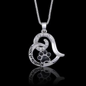 Pet-Dog-Cat-Necklace-Pendant-Memorial-Jewellery-Keepsake-Always-In-My-Heart