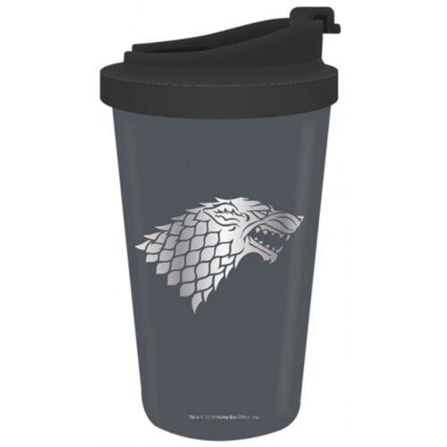 Game of Thrones Winter is coming en acier inoxydable 300 ml Tasse de voyage