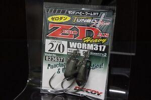 3620 9 grams Decoy Worm 317 Zero Dan Heavy Worm Size 1//0