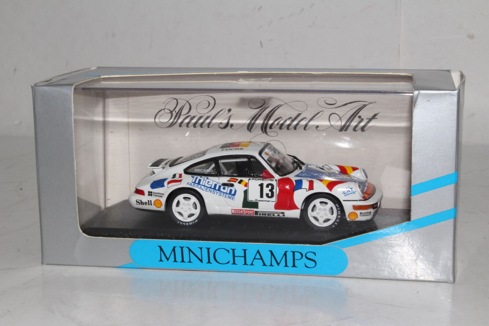 Minichamps Moulage sous Pression   936013 Porsche 911 voiturerera, 1993 Coupe, A.  bon prix