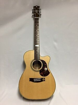 Musical Instruments & Gear Maton Ebg808c-te Tommy Emmanuel To Assure Years Of Trouble-Free Service