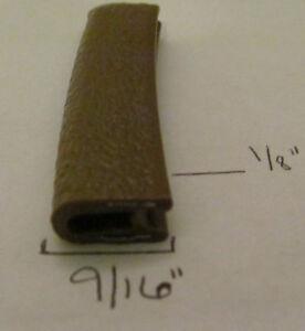 "1//16/"" x 9//16/"" WHITE Edge Trim Vinyl PVC Trailer RV Boat Seal Lock Permanent Grip"