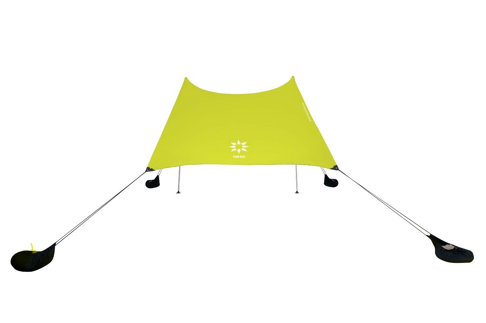 Neso Tents Beach Tent with Sand Anchor,  Portable Canopy Sun Shelter (Lemon)  for cheap