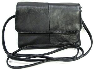 Image Is Loading 4 Pocket Soft Lambskin Leather Small Soulder Purse