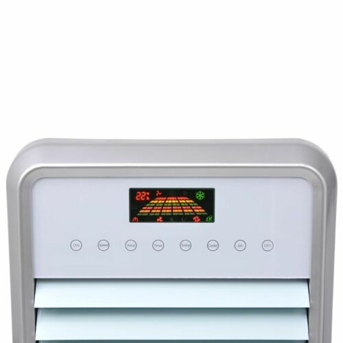 vidaXL Condizionatore Aria 120W 15L 648 m³//h Climatizzatore Ventola Portatile