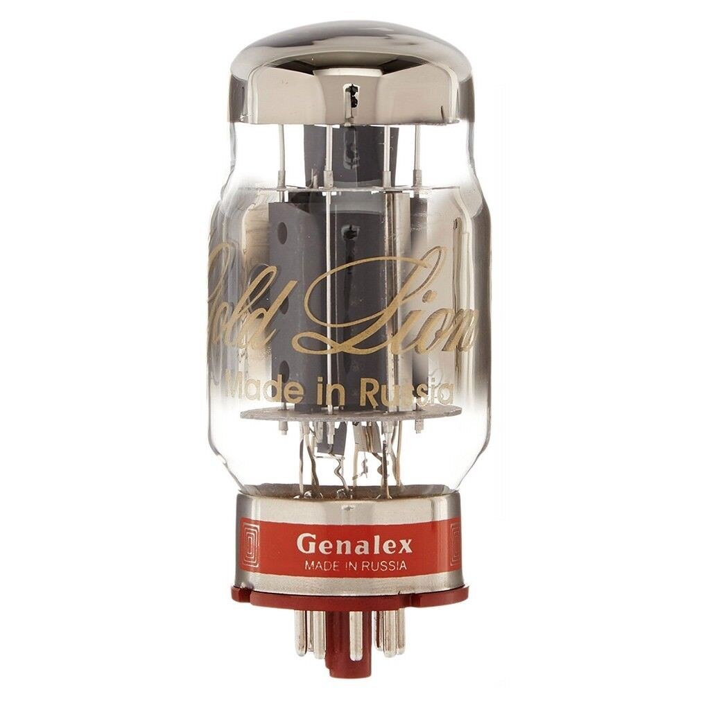 Brand New In Box Genalex Gold Lion Reissue KT88   6550 Vacuum Tube - Guaranteed