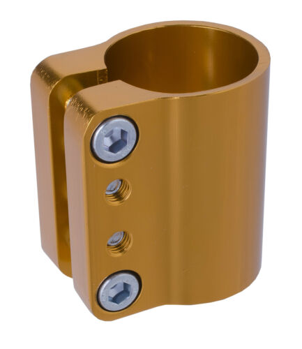 Anodized Gold Grit Quad Clamp