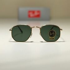d95559ea495 item 1 New Ray-Ban Hexagonal Flat Lenses Gold RB3548N 001 51-21 51mm G15  Green Lens -New Ray-Ban Hexagonal Flat Lenses Gold RB3548N 001 51-21 51mm  G15 Green ...