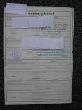 Ford Taunus  1,6 ltr  72 PS  Bj.1972  5 Sitzer Datenblatt  Brief NH
