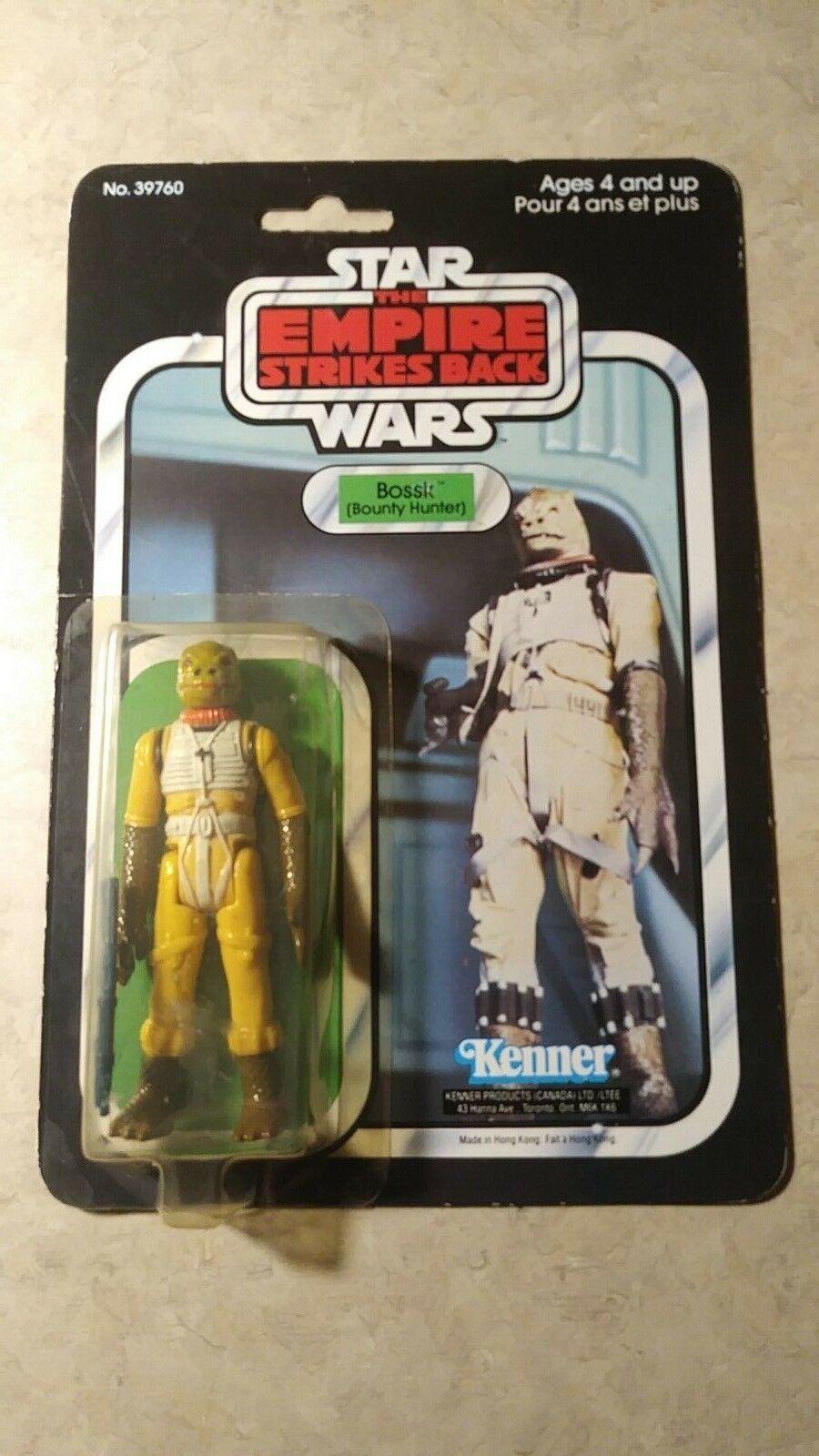 Vintage 1980 Kenner Star Wars Bossk esb 41 Envío Gratuito