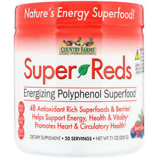 Country Farms Super Reds Powder Berry 200gm 035046098797j1335