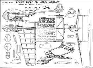 Adaptable Astral Rocket Propulsion Avion Plans-afficher Le Titre D'origine Ferme En Structure