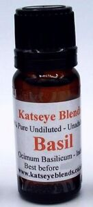 Basil-Essential-Oil-x-10ml-Therapeutic-Grade-100-Pure