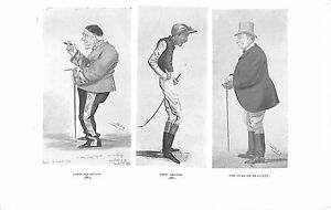 Leslie-Ward-Lord-Houghton-Fred-Archer-Duke-of-Beaufort-40-yrs-of-Spy-1915-Spy