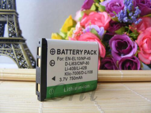 2 X NP-45 NP-45A Batería//Cargador para Fujifilm FinePix XP60 XP10 XP70 T550 JX20