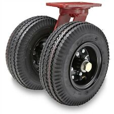 Hamilton Pneumatic Dual Wheel S 7208 Pr 8 Swivel Caster 34 Roller Bearing