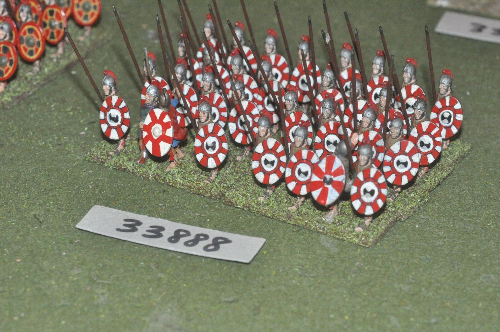 25mm roman era   roman - late legionaries 32 figures - inf (33888)