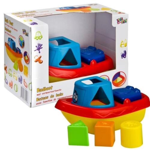 Baby Boat Bath Time Shape Fitting Function Playset Paddling Water Toy Gift