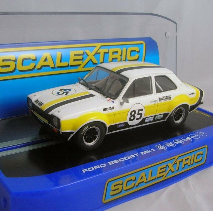 Scalextric C3489 Ford Escort MkI Historic Masters Series 2013 Slot Car 1 32