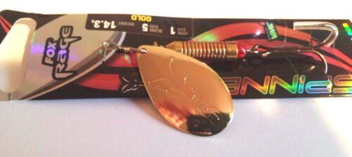 Fox Rage Blade French Spinner gold 3,6g Hecht Zander Kunstköder