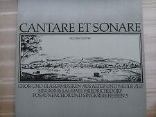 Cantare Et Sonare - Chor und Bläsermusiken (Friedrichsdorf)