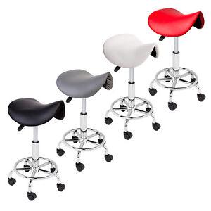 Adjustable-Salon-Stool-Hydraulic-Saddle-Rolling-Chair-Tattoo-Facial-Massage-Spa
