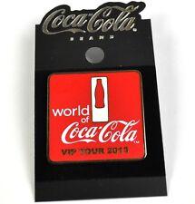 Nobile Coca-Cola Coca Cola USA Con risvolto Pin Pulsante Stemma Spilla VIP Tour