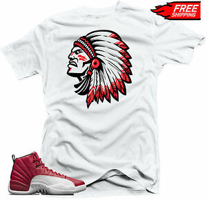 5230306b458 Details about T-shirt to match Jordan Retro 12 Alternate Gym Red sneakers