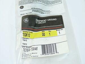 General Electric TGK12 Equipment Ground Bar Kit 12 Circuit NEW