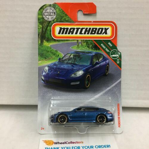 HE10 MXB Matchbox Porsche Panamera Blue