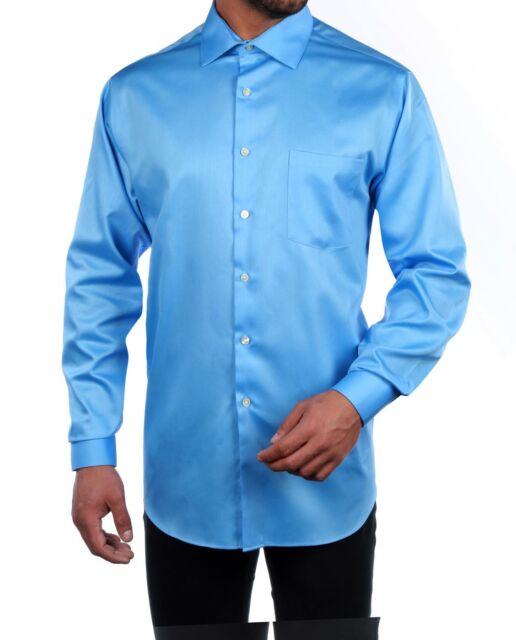 ad2b62fdb6d Geoffrey Beene Men s Non-iron Regular Fit Sateen Shirt 30b4254 for ...