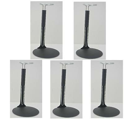 "5 PCS 1//6 Scale C-Type Display Stand Doll Holder fit 12/"" Action Figures Black"