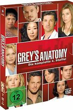 GREY'S ANATOMY, Staffel 4 (5 DVDs) NEU+OVP
