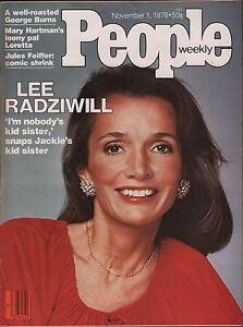 People-Weekly-November-1-1976-Lee-Radziwill-George-Burns-VG-012716DBE