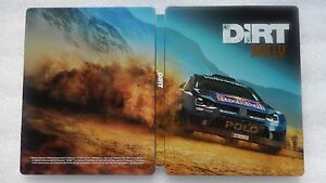 Image Is Loading Dirt Rally PS4 Steelbook ONLY For PlayStation 4