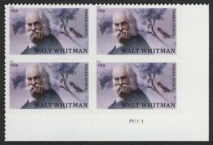 #5414 Walt Whitman, Placa Bloque [P11111 LR ], Nuevo Cualquier 5=