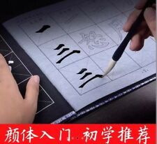 Reusable Chinese Water Writing Cloth Paper Practice Calligraphy Character Book Liu Gong Quan