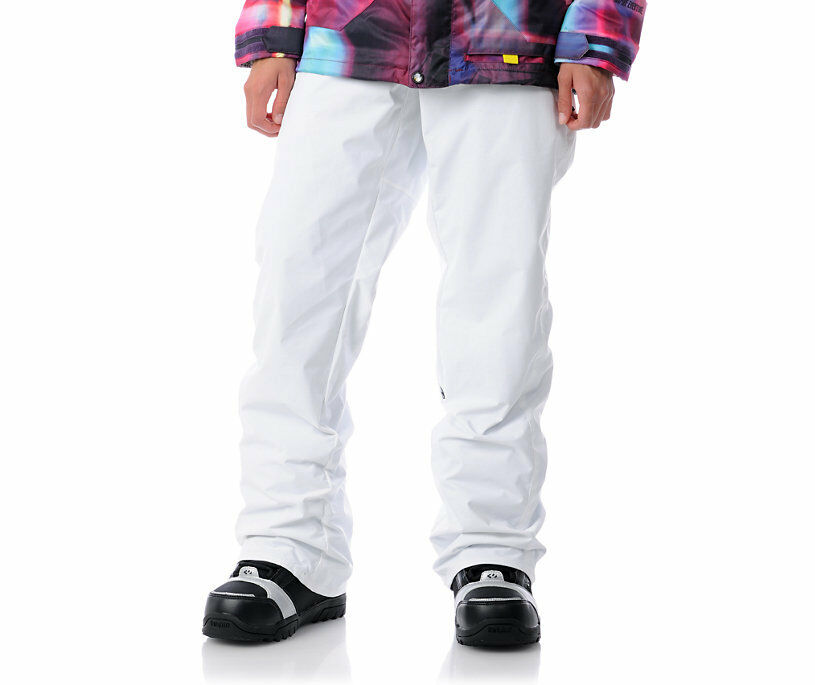 Volcom Vico Pant Womans Cargo 8k Waterproof Ski Snowboard  White M  online outlet sale